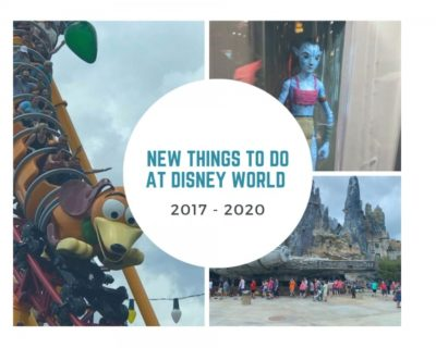 New Things to do in Disney World