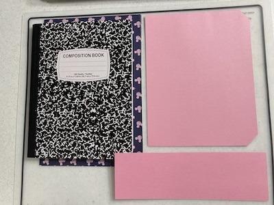Notebook Cut Paper