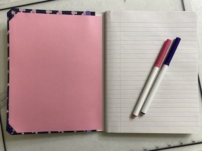 DIY Disney Notebook Inside Cover