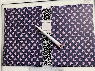 Notebook Fold Examples