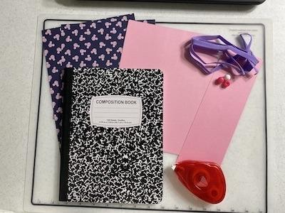 Disney Notebook Supplies