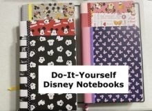 DIY Disney Notebook