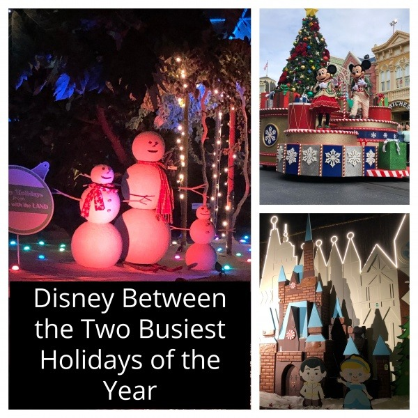 Disney Between the Two Busiest Holidays of the Year