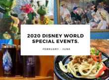 2020 Disney World Special Events