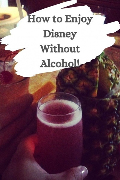 Disney Without Alcohol