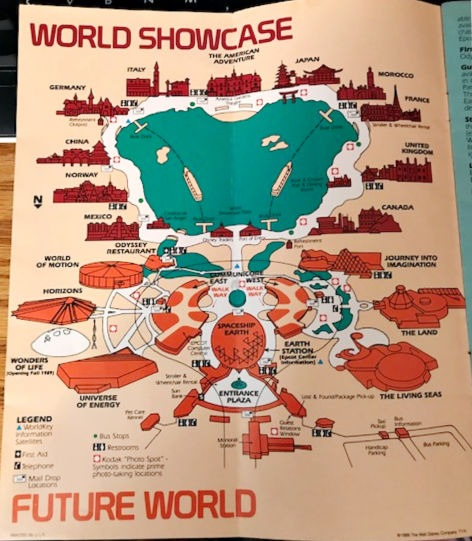 A Look Back at Epcot in 1989
