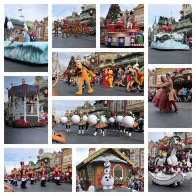 Mickey's One Upon a Christmastime Parade