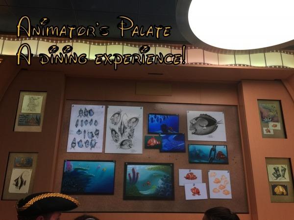 Animator's Palate dining experience