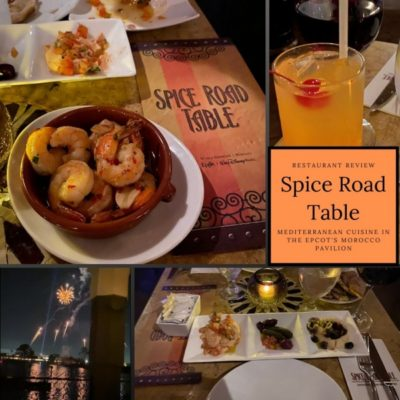 Epcot's Spice Road Table