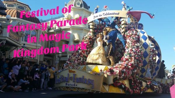 Festival of Fantasy Parade in Magic Kingdom Park