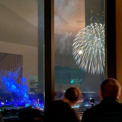 Fireworks at Disney's California Grill