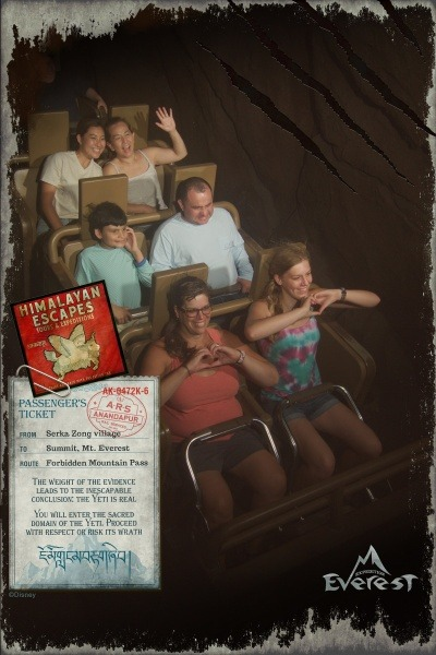 Disney World ride photos