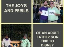 A Father and Adult Son Disney World Trip