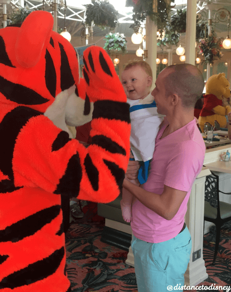 The Crystal Palace: Tigger and Belle