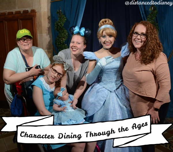 Character Dining Through the Ages