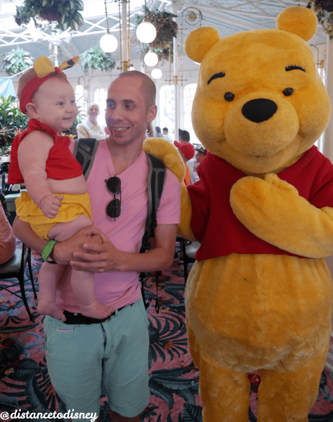 The Crystal Palace: Pooh and Belle and Daddy