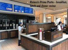 Riviera Primo Piatto cashier and beverage station