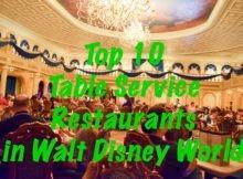 Top Ten Table Service
