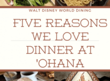 5 Reasons we love diner at 'ohana