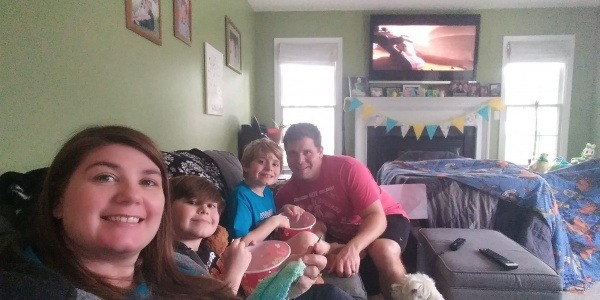 Family Time with Disney + and Clone Wars