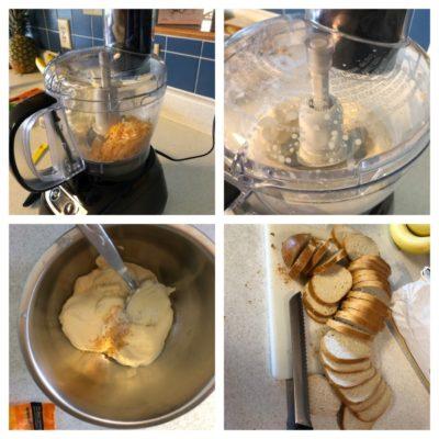 Ingredients Preparation - Grilled Three-Cheese