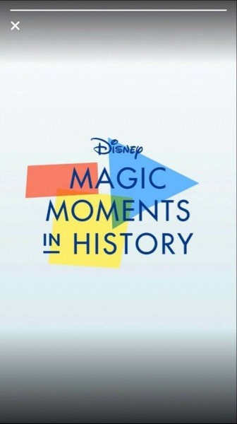Disney Magic Moments in History