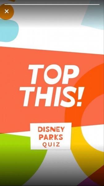 My Disney Experience app quiz