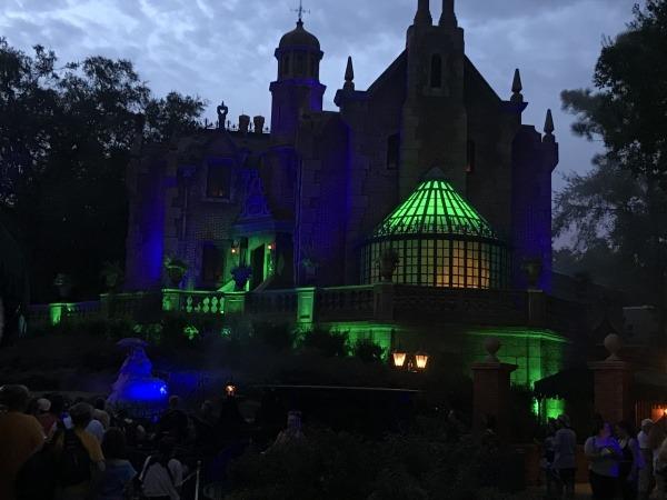 The Haunted Mansion Magic Kingdom