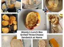 Woody's Lunch Box Grilled Three-Cheese Sandwich at Home