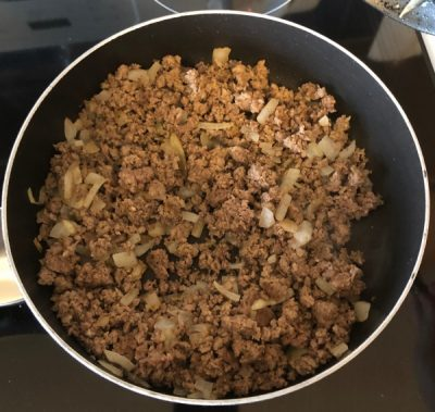 Ground Beef with Onion