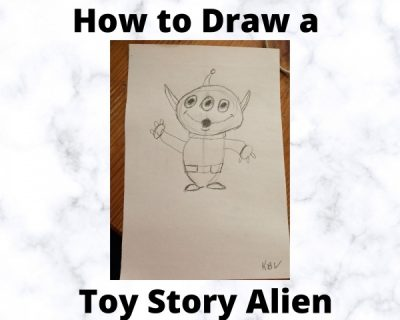 How to Draw a Toy Story Alien
