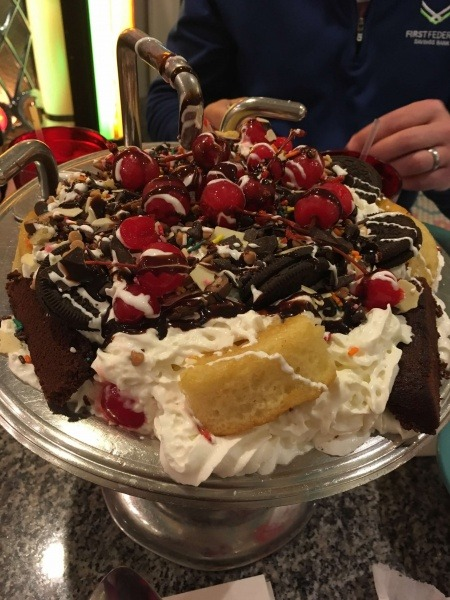 Beaches and Cream Kitchen Sink Sundae