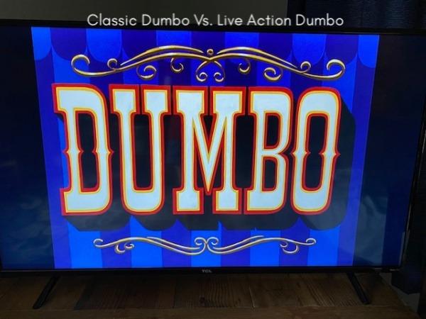Classic Dumbo vs. Live Action Dumbo