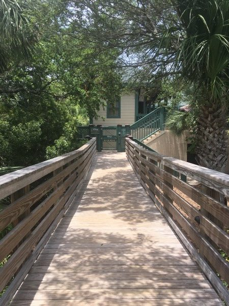 Walkway to beach on Hilton Head Island