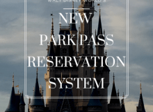 Disney's new park pass reservation system