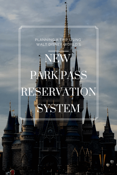 Walt Disney World's new park reservations