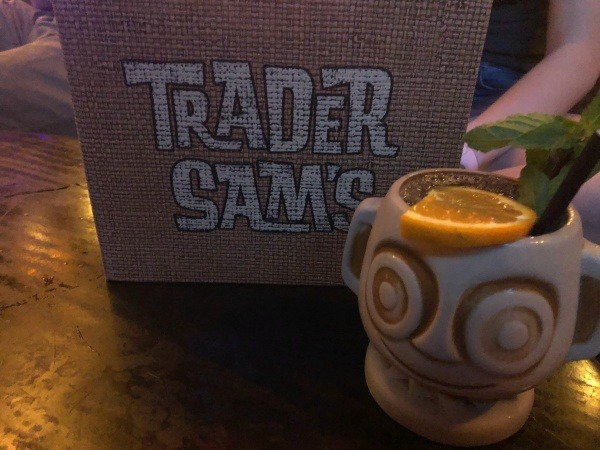 Trader Sam's Menu and Drink at Disney's Polynesian Villas