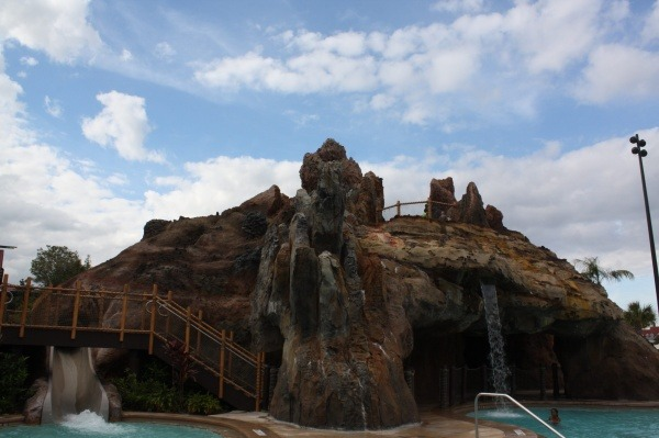 Enjoy the Lava Pool during a stay at Disney's Polynesian Villas and Resort