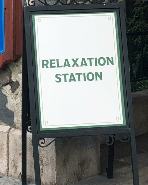 Relaxation Stations throughout Walt Disney World
