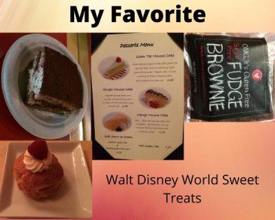 Disney World Sweet Treats