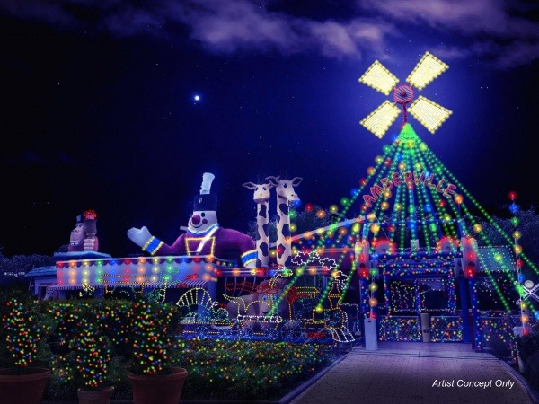 Enjoy many of the GKTW attractions | Night of a Million Lights to Reignite the Holiday Season in 2020