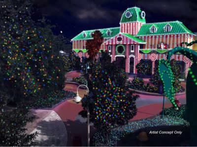 Towne Hall will be decked in holiday lights
