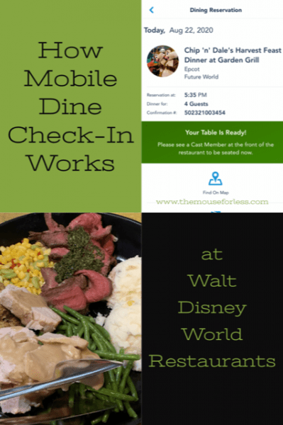 How Mobile Dine Check-In Works