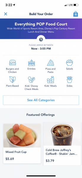 Gluten Free Mobile Order at Everything POP!