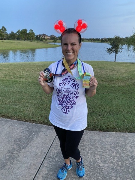 enjoy your Virtual runDisney race
