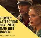 7 Disney Attractions That Were Made into Movies