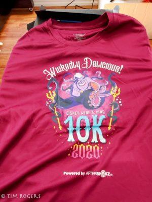 Wine and Dine 10k Shirt