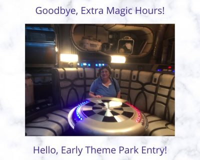 Early Theme Park Entry