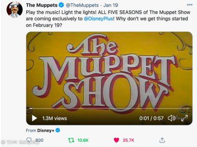 Muppet Show Announcement