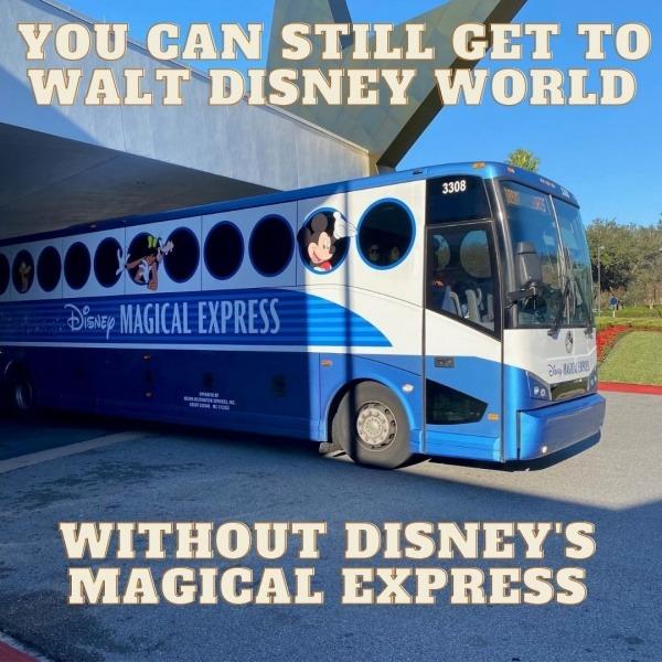 Walt Disney World without Disney's Magical Express